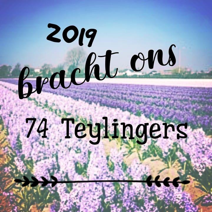 2019 bracht ons 74 Teylingers